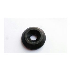 Black plastic washer diam. 37.5mm for fixing legs